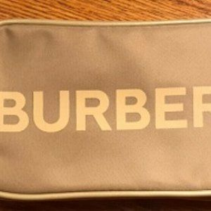 Burberry London Beaute Tan Bum Bag Toiletry, NEW